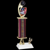 Customized Bowling Trophy Single Column Trophies