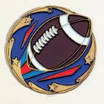 Color Star Football Medals All Trophy Awards