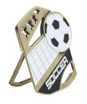 Soccer Color Medal Free Standing Or With Ribbon All Trophy Awards