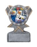 Action Sport Mylar Holder Basketball Trophy Awards