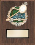 Swimming Resin Plaque Mount Award Bowling Trophy Awards