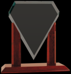Royal Marquis Diamond Clear Glass Award Clear Glass Awards