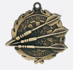 Wreath Dart Medal Darts Trophy Awards