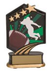 Football Resin Trophy Football Trophy Awards