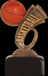 Headline Basketball Resin Headline Resin Trophy Awards