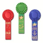 Scholastic Rosette Award Ribbon Hockey Trophy Awards