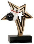 Bowling Infinity Star Resin Infinity Star Resin Trophy Awards