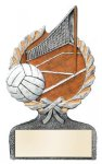 Volleyball Multi Color Sport Resin Figure Multi Color Sport Resin Trophy Awards