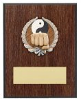 Karate Resin Plaque Mount Award Music Trophy Awards