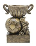 Sport Cup Soccer Antique Gold Soccer Trophy Awards