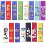Pinked Cut Scholastic Award Ribbon Track Trophy Awards