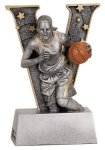 Female Basketball V Series Resin V Series Resin Trophy Awards