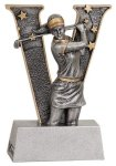 Female Golf V Series Resin V Series Resin Trophy Awards