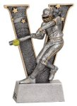 Female Softball V Series Resin V Series Resin Trophy Awards