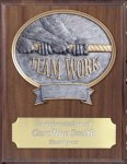 Teamwork Resin Plaque Mount Award Volleyball Trophy Awards