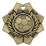 Imperial Soccer Medals Wreath Medal Awards