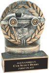 Racing - Wreath Resin Trophy Wreath Resin Trophies